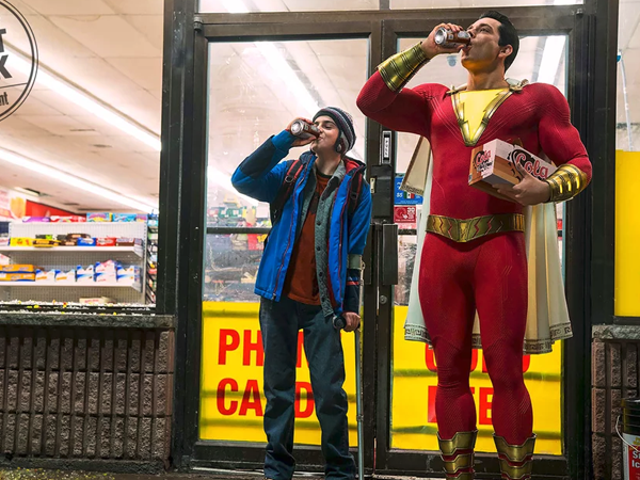 Shazam! Cuts Loose in the First Official Photo of Zachary Levi in Costume