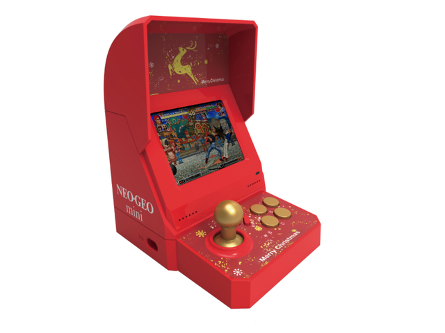Limited Edition Neo Geo Mini Just For The Holidays