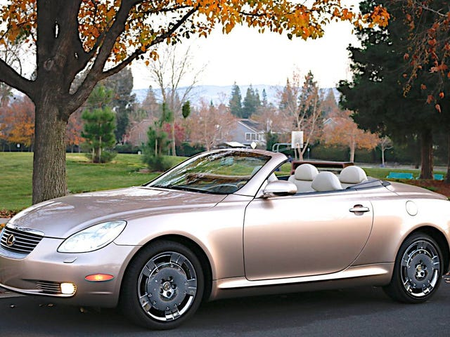 For $9,900, Could This 2002 Lexus SC430 Overcome Your Prejudices Against The Lexus SC430?