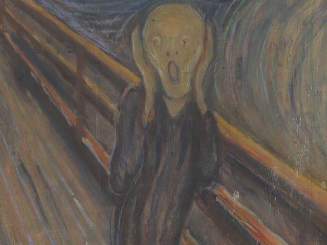 我们已经解决了<i>The Scream</i>中那些白色斑点的神秘面纱