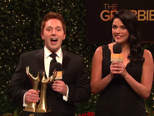 SNL gets ready for red carpet Oscars drama with the sexual harassment awards, The Grabbies