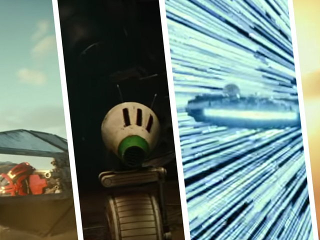 There's an Entirely New TIE Fighter and Droid in the New Star Wars Trailer UPDATED
