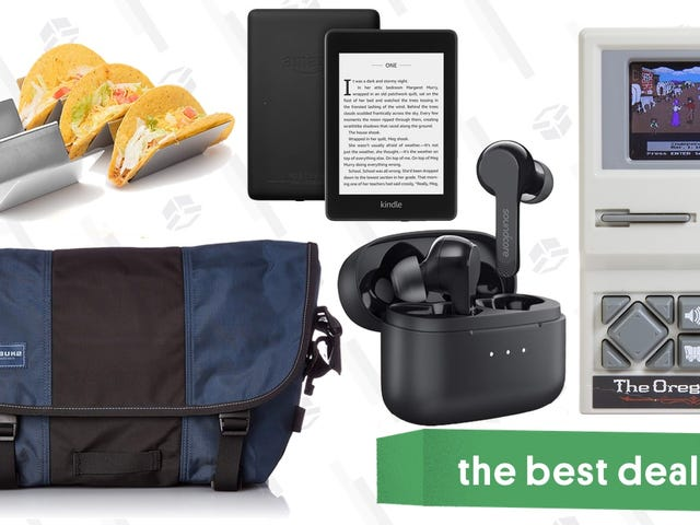 Monday's Best Deals: Timbuk2, Oregon Trail, Anker Earbuds, Waterproof Kindle, and More