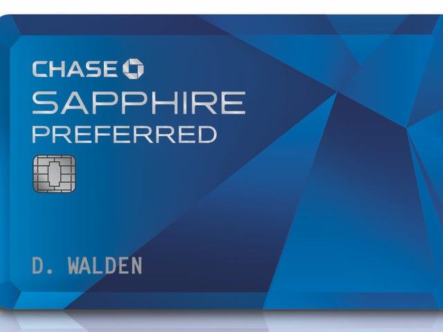 La migliore carta di credito dei premi di viaggio è Chase Sapphire Preferred