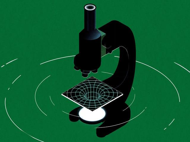 Cách tạo lỗ đen trong phòng thí nghiệm khoa học