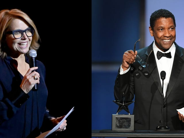 King Kong Ain't Got Nothin' on Katie Couric's Reach, Says She Felt 'Shaken' by Denzel Washington Interview