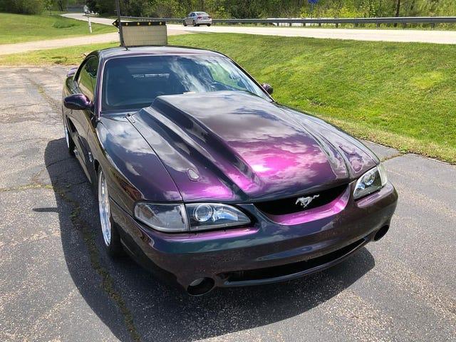 Fresh Mystic Paint Job on a 1996 Cobra