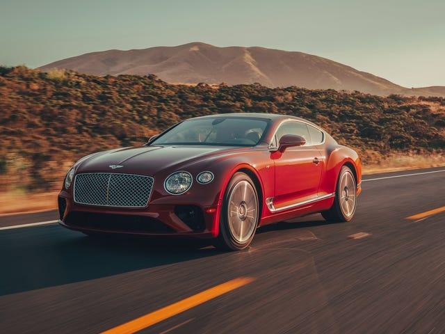 Οι άνθρωποι «έκπληκτοι να ανακαλύψουν το Bentley Continental GT που ονομάζεται« Λαϊκό αυτοκίνητο της χρονιάς »