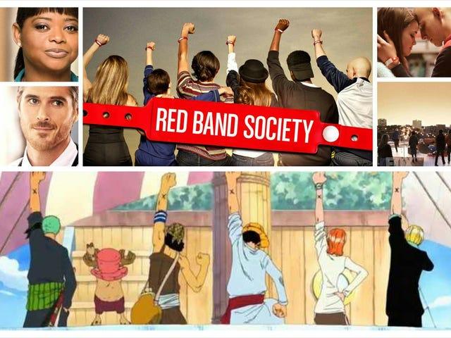 昨夜のNetflixを見ていると、Red Band Societyの写真に気づいた。