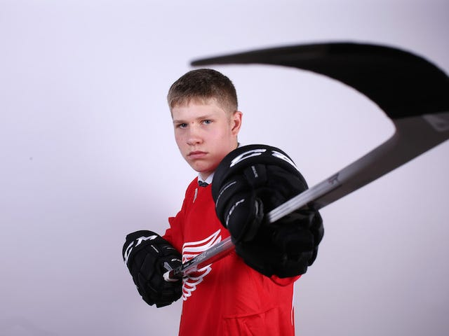 The Detroit Red Wings Appear To Have Signed A 13-Year-Old