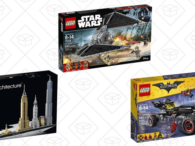 Build Up Your Toy Collection With Discounted LEGO Sets