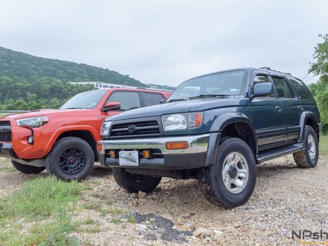 1997 Vs. 2015 4Runner: What Has Toyota Done With It In 18 Years?