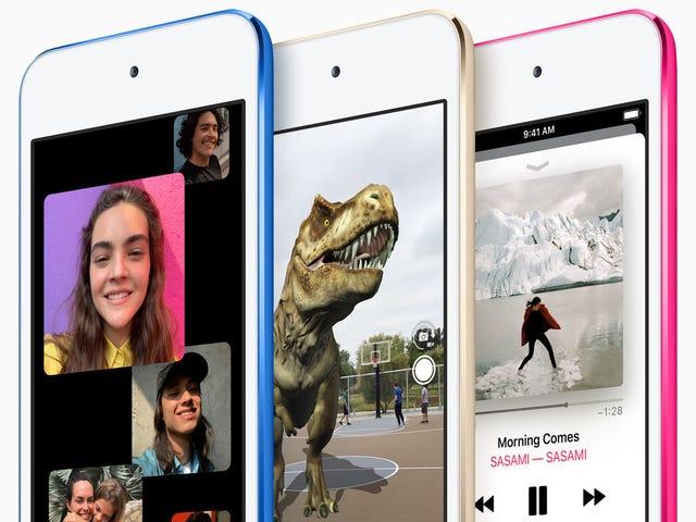 Kuka on uusi iPod Touch hyvä?  Yksityisyys Hawks