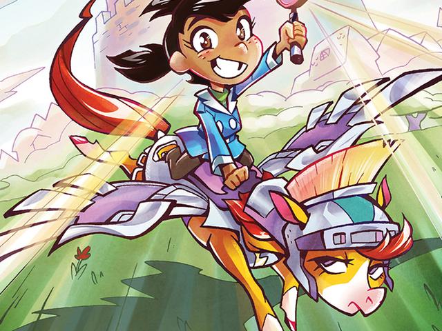 Досліджуючи світ детективних принцес і ривок поні в Mega Princess