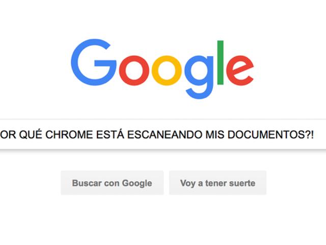 Google Chrome escanea tus archivos una vez a la semana, pero no tienes de qué preocuparte (en serio)