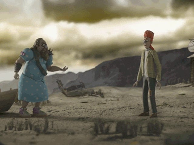 NSFW Animation Shows How Awful It Is to Be Stuck on Earth with Somebody After the Apocalypse