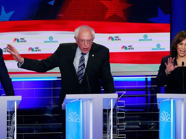 Kamala Harris se lance dans le débat de Joe Biden sur la question de la race lors de la deuxième nuit des débats démocratiques