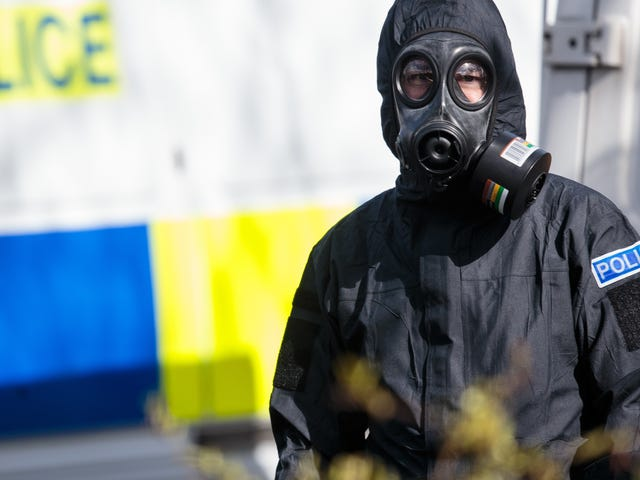 Russia: Well, Maybe It Was Actually the UK That Poisoned Our Ex-Spy With Our Soviet-Era Nerve Agent