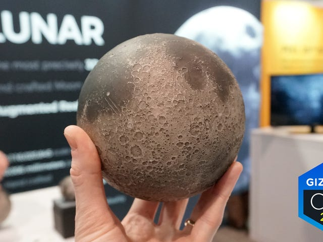 This Beautifully-Detailed Replica Is the Best Way to Learn About the Moon Without Actually Visiting It