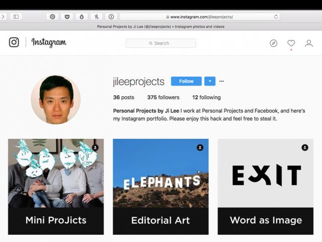 Hoe maak je een gratis kunstportfolio aan met behulp van Instagram