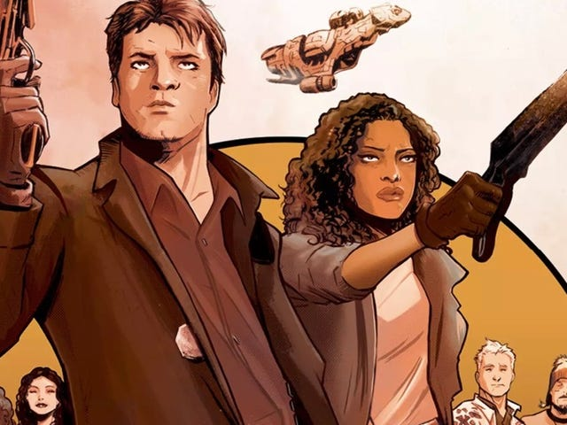 A NewFirefly Prequel Comic Will Reveal the 'Full Story' of How Captain Mal and Zoe First Met