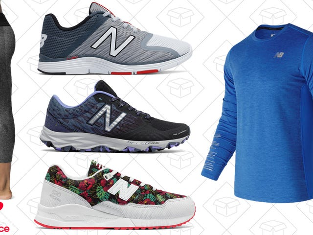 Get Your Workout Gear Under Control With This Sitewide Sale at New Balance