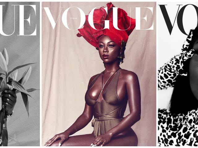 Cover Stories: The #VogueChallenge Is a Black Beauty Revolution for the Fashion World