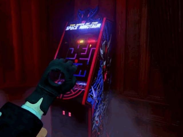Playing a Fake Arcade Game Will Make a Weird Game Weirder