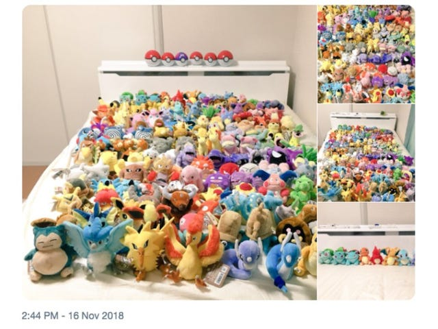 Buying Plushies Of The Original 151 Pokémon Is Expensive