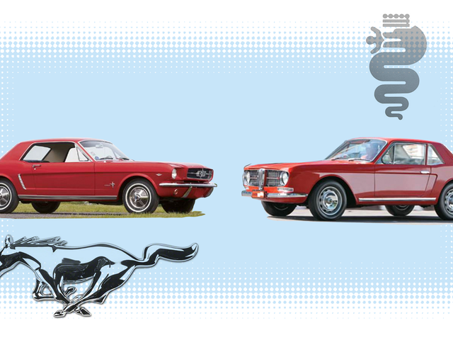 If You Always Hoped There Was a Car That Looked Like a Bad Photoshop Mash-Up of an Alfa and a Mustang, I Have Good News