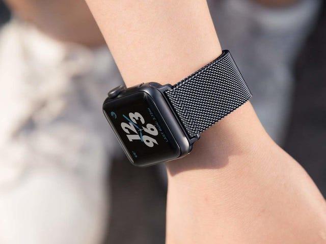 Accessorize seu Apple Watch com uma faixa de loop milanesa de US $ 5
