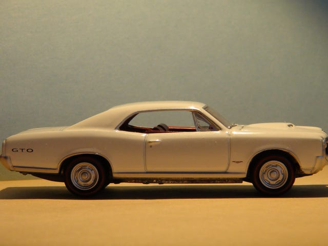 LaLD Car Week: 'Murica Monday: Pontiac GTO [1:64]