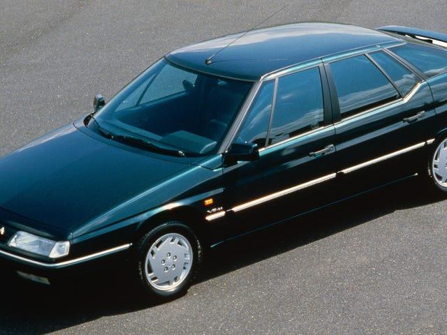 Citroën XM đã đến với một cửa sổ bị lừa