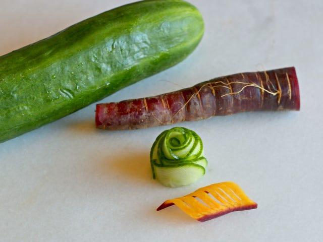 Όμορφες, βρώσιμες γαρνιτούρες μπορεί κανείς να κάνει από βαρετό, άσχημο λαχανικά