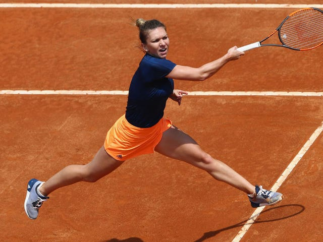 Aan The Women's Side, is The French Open Iemand