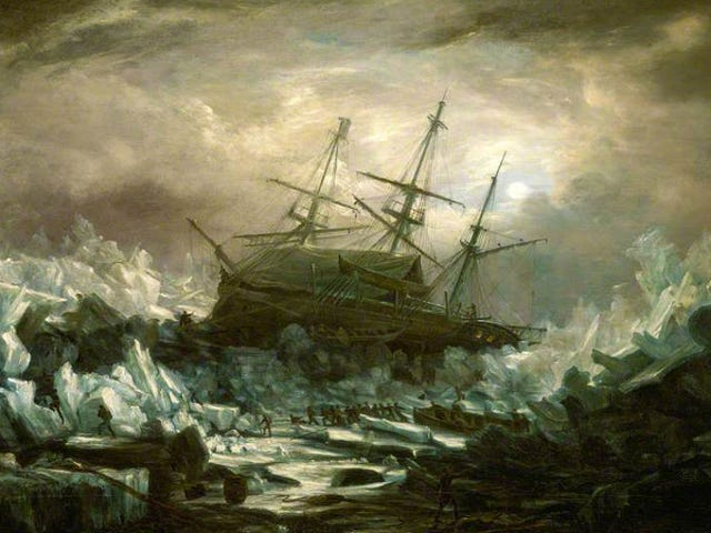 Archaeologists Discover Perfectly Preserved 168-Year-Old Ship in the Arctic Ocean