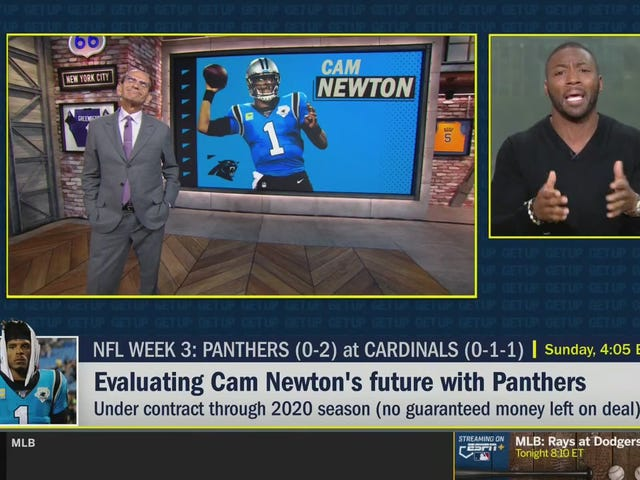 Heartwarming: Paul Finebaum Gets His Ass Handed To Him Over Lazy Cam Newton Take