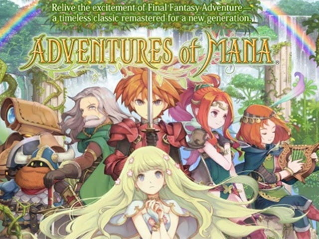Adventures Of Mana Now Available For PS Vita in Europe And Australia *Edit*: And now in North America