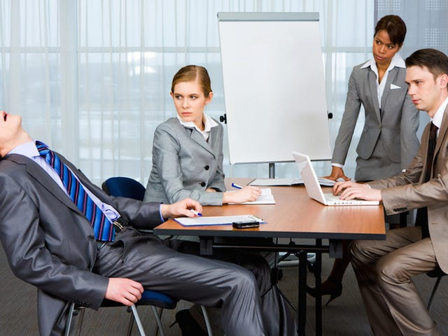 Choose an Uncomfortable Seat to Stay Awake in Meetings