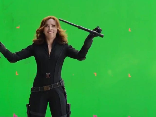 Everyone Is Having Too Much Fun in This Captain America: Civil War Gag Reel