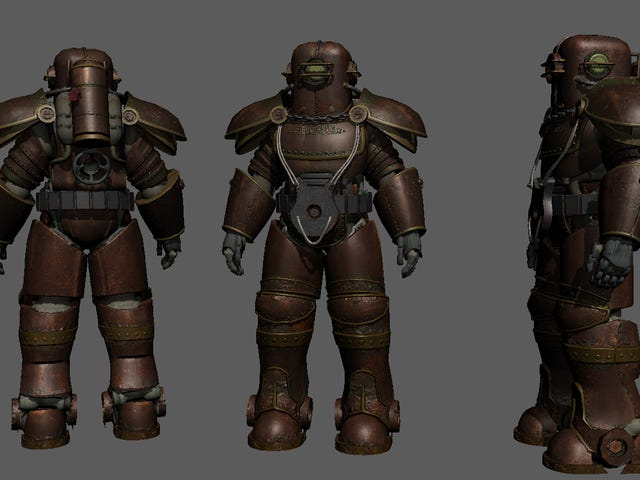 BioShock-Inspired Fallout 4 Armor Looks Great