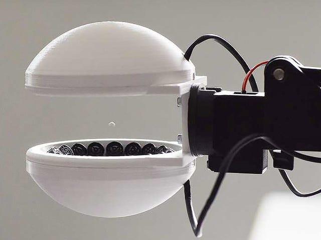 En utilisant des pouvoirs de force, cette pince robotique peut saisir des choses sans les toucher