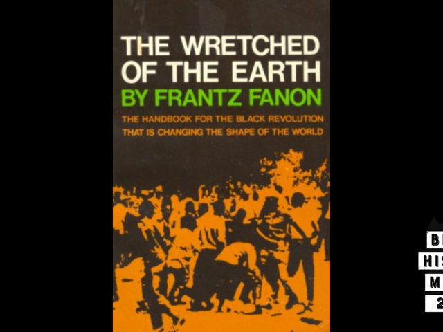 28 Tage literarische Schwärze mit VSB |  Tag 16: <i>The Wretched of the Earth</i> von Frantz Fanon