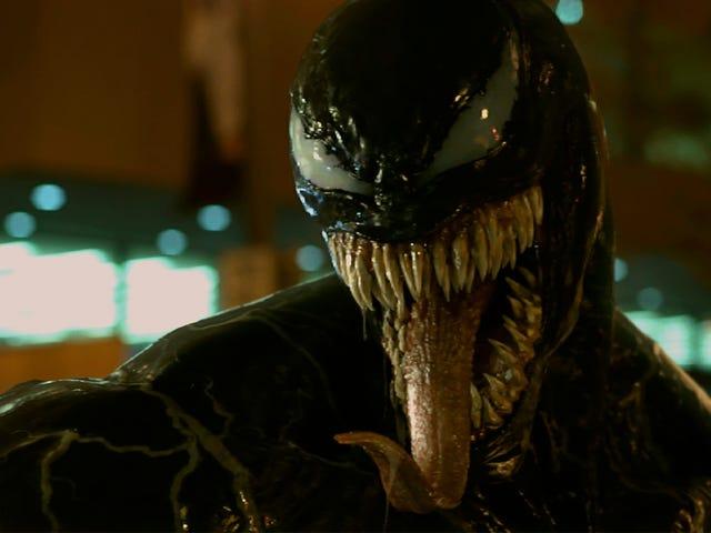 Venom vil være det PG-13-klassificerede sexede ansigtsfortærende slim-monster - for børn!