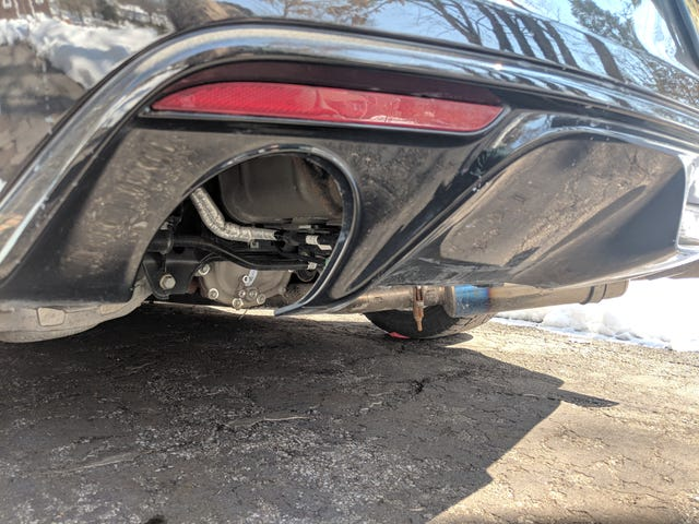 My Dirty Exhaust Hole