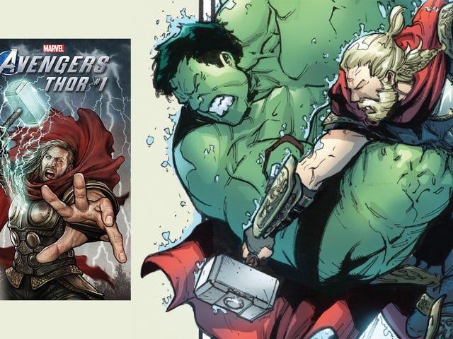 Thor's Avengers Game Comic Book Is A Fresh Take On A Classic Brawl