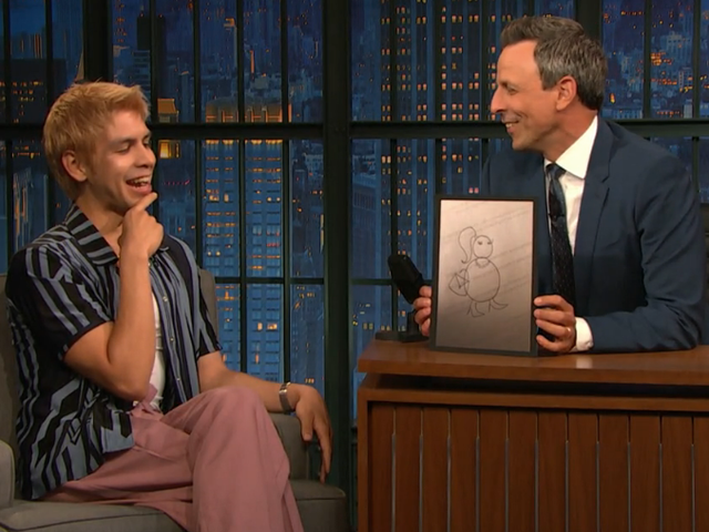 Julio Torres tells SNL writing alum Seth Meyers about his greatest rejected sketch