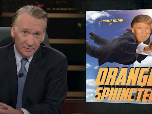 Bill Maher Stupidly Blames Superheroes for Trump