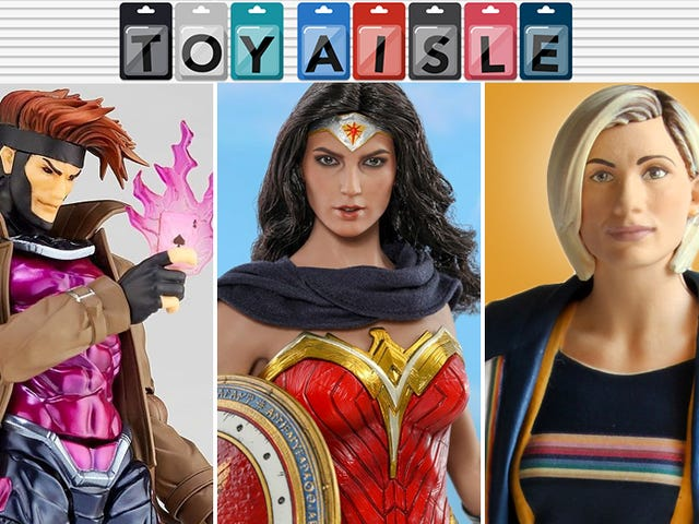 The DC Movie Wonder Woman Goes Comic Book Retro, and More of the Most Fabulous Toys of the Week