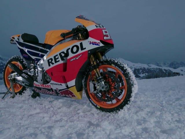 Lereng Ski Shredding Pada Sepeda MotoGP Adalah Penyangkalan Ketakutan <em></em>